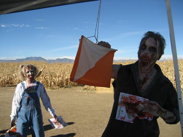 Zombie photo.