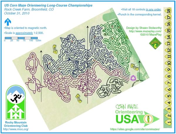 Maze map.